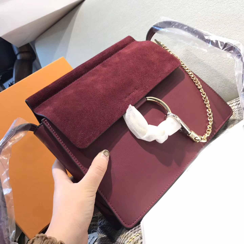 libre sacs à bandoulière shiping femmes chaîne en cuir véritable sacs à main sac de crossbody cercle bourse de haute qualité design de luxe femme