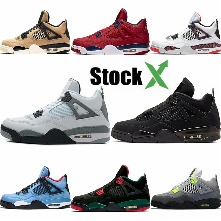 Zapatos para hombre del baloncesto 4 6 11 13 Denim Ls Travis Hombres Negro tejanos 4S 4S 14S 14S entrenadores deportivos zapatillas de deporte con nosotros 7-13 # 326