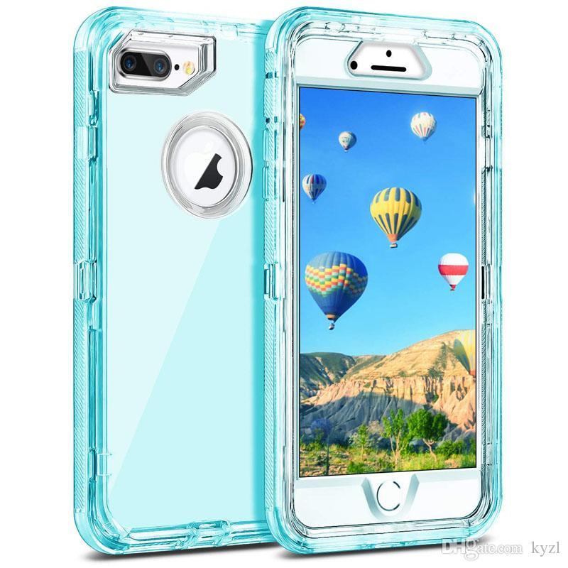 아이폰은 11 프로 케이스 수비수 아이폰 5S XR X / XS를 들어 1 3IN1 헤비 듀티 케이스 듀얼 레이어 충격 방지 하드 PC 3