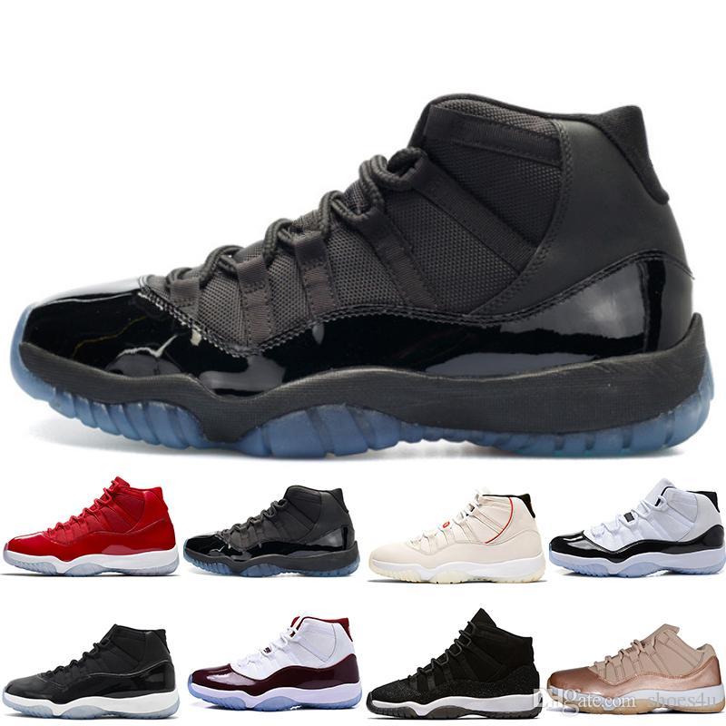 High Concord 45 11 Zapatillas de baloncesto para hombre 11s Tinte de platino GORRA Y GOLD BRED LEGEND BLUE CLOSING CEREMONY HEIRESS hombre mujer deportes
