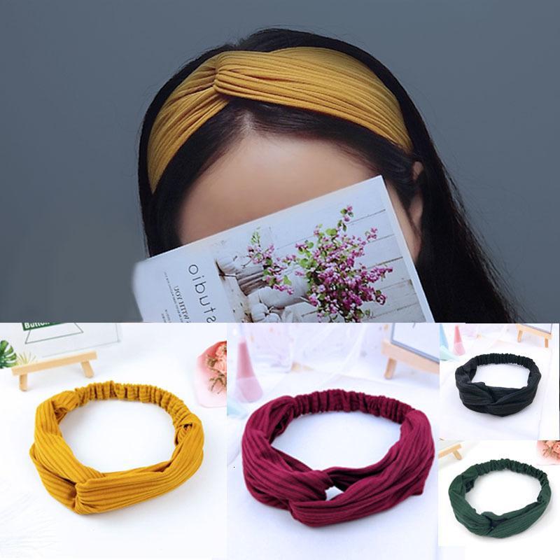 Fashion Korean Knot Hairband Women Hair Band Hoop Headband Girls Headdress New