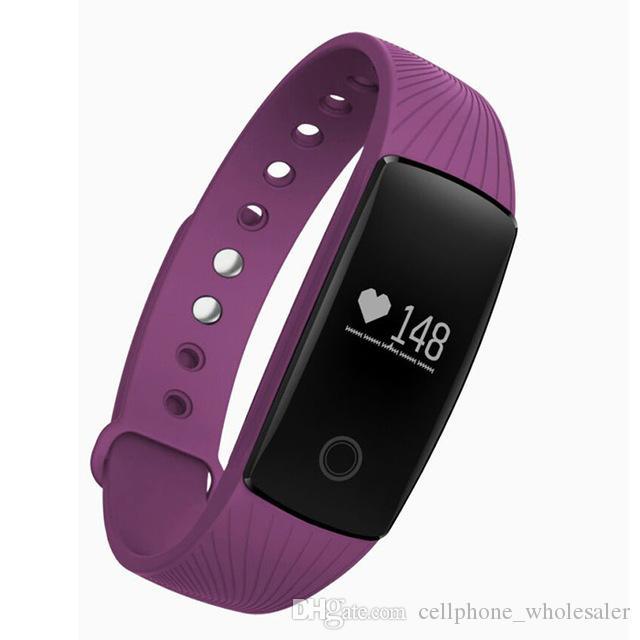 ID107 Smart-Armband Fitness Tracker-Sport-Puls-Monitor Smart Watch Pedometer Passometer Kamera Armbanduhr für iOS iPhone und Android