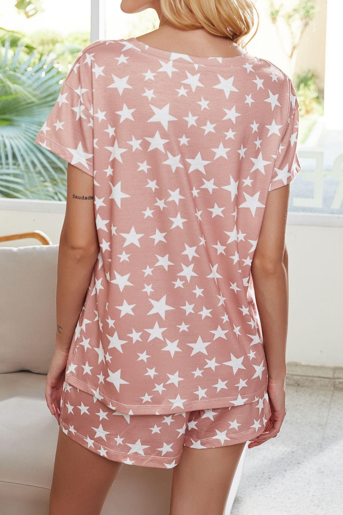 DSzFY sqtrimmer DHL Bedava Pijama tiedye İçin Kız pigiama Da Donna Başına Girocollo Tye Boya Kısa Mor Işık Minnettar Ölü Batik Gömlek