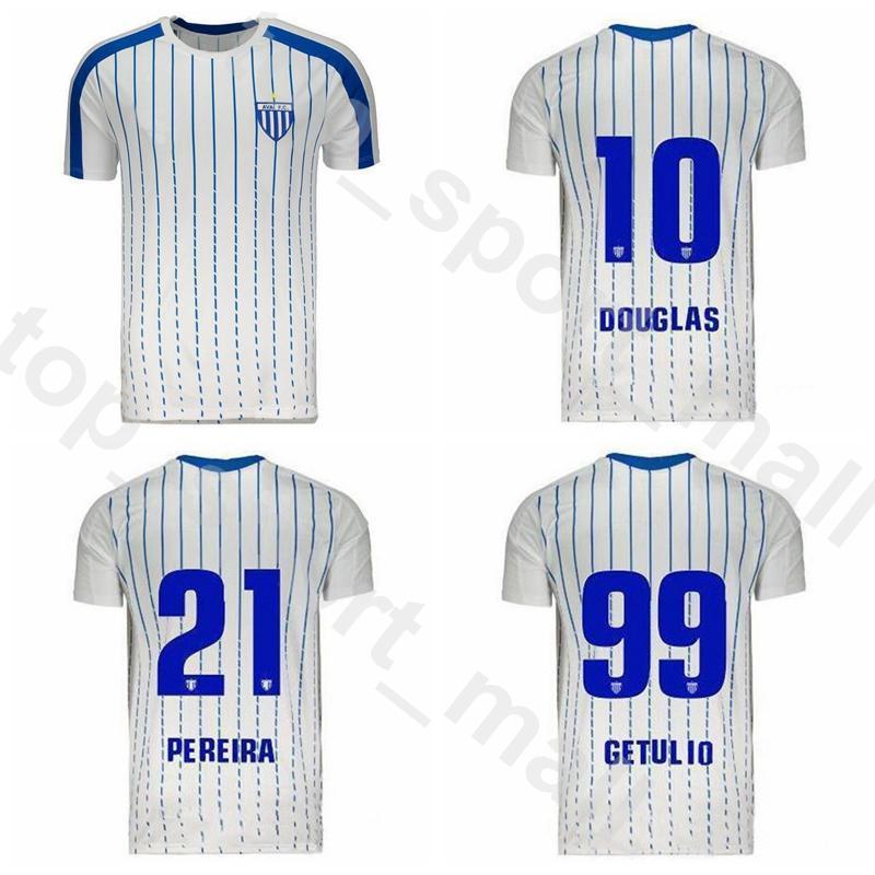 2020 FC Avai 2019 Soccer Jersey Hommes GETULIO Renato Silva RODRIGO Romulo Claudio Marquinhos blanc football shirt Kits Nom personnalisé Nombre