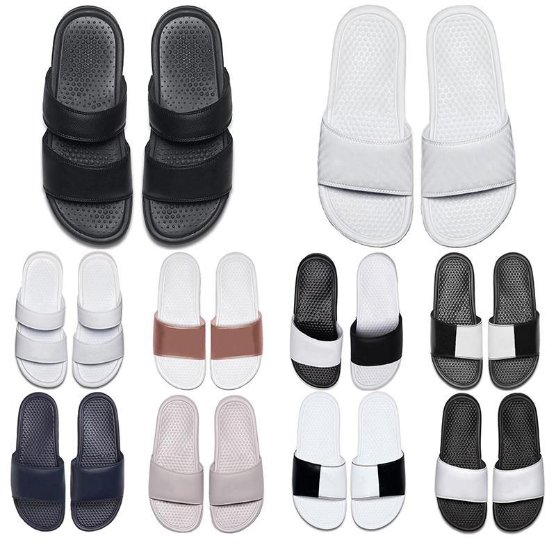 concepteur pantoufle mocassin blanc bleu marine hommes femmes glissent mens pantoufles sandales mocassins Sandales des femmes de chaussures de sport formateurs 36-45