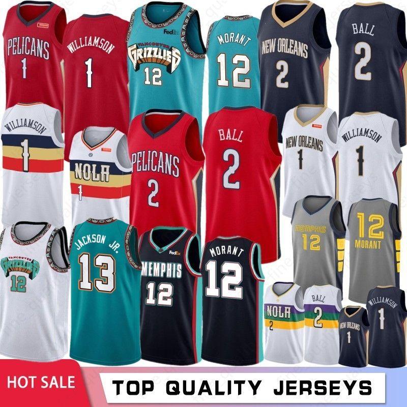 NCAA 1 Zion Williamson Koleji Basketbol Formaları 12 Ja Morant 2 Lonzo Ball 9 RJ Barrett Basketbol Formaları S-XXL Stok 2019 2020