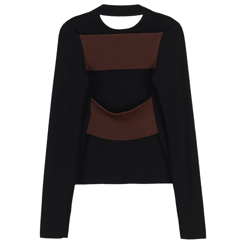 Moda-High End Siyah Kırmızı Çizgili Uzun Kadın Pantolon Marka Same Tarzı Capris Kadınlar Pist Stil Pantolon M0087