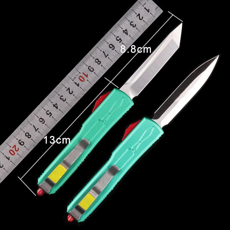 Faca automática tanto ponto de lâmina CNC processo high-end auto faca único edge spartan high end survival faca hellhound ferramenta de caça dobrável