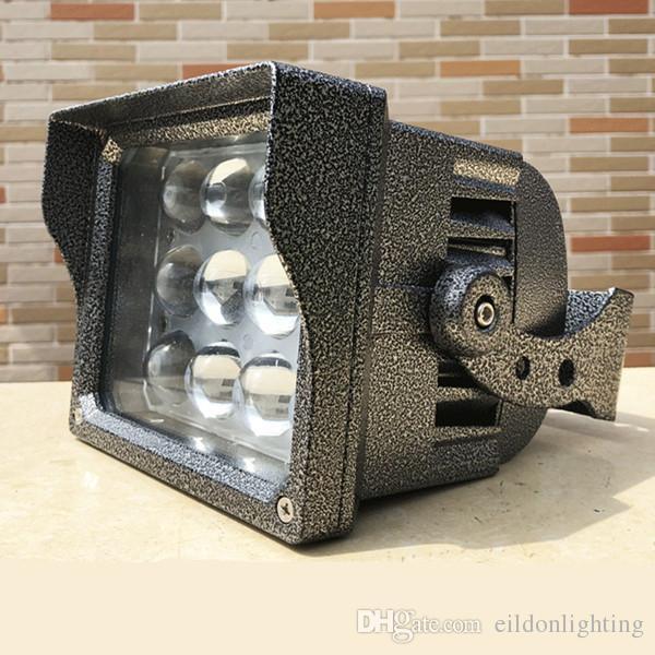 IP67 في الهواء الطلق الصمام الاضواء اللون كري 36W 24W AC85-265V 130-140LM / W PF0.9 مصابيح ضوء الفيضانات للماء لإضاءة المناظر الطبيعية من الصين