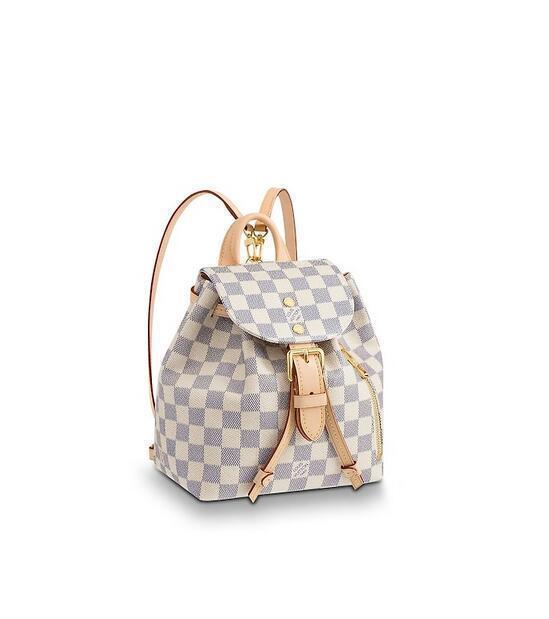 7A N44026 Sperone Bb Frauen Fashion Rucksäcke Business Taschen Tote Messenger Bags Reisetaschen Rolltaschen