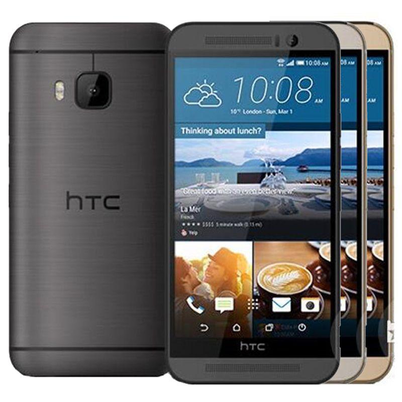 الأصل تجديد HTC ONE M9 الولايات المتحدة الاتحاد الأوروبي 5.0 بوصة الثماني الأساسية 3GB RAM 32GB ROM الهاتف 20MP 4G LTE مقفلة الروبوت الهاتف المحمول الذكية DHL 1PCS