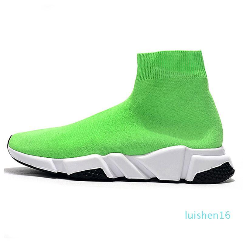 2020 calcetín diseñador de zapatos deportivos de lujo entrenador de velocidad para mujer para hombre de las zapatillas de deporte de la vendimia triplicador etoile ocasionales calcetines formadores de plataforma botas de L16