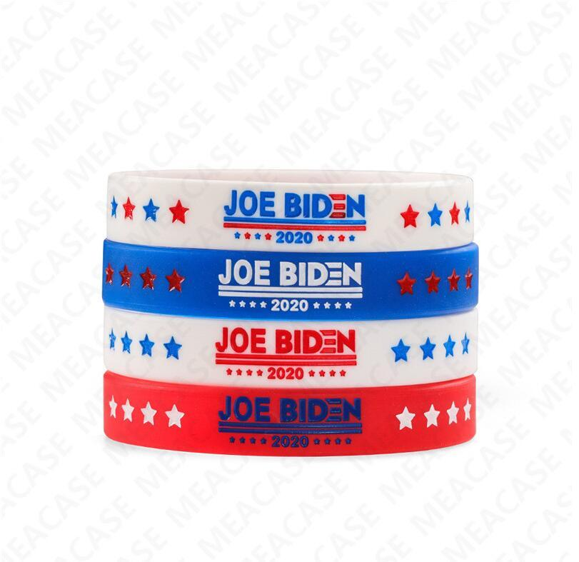 Joe Biden for President Bracelet Silicone Bangles for Women Men 2020 USA America Voting Rubber Wristband Solid Color Jewerly Gifts hot D7211