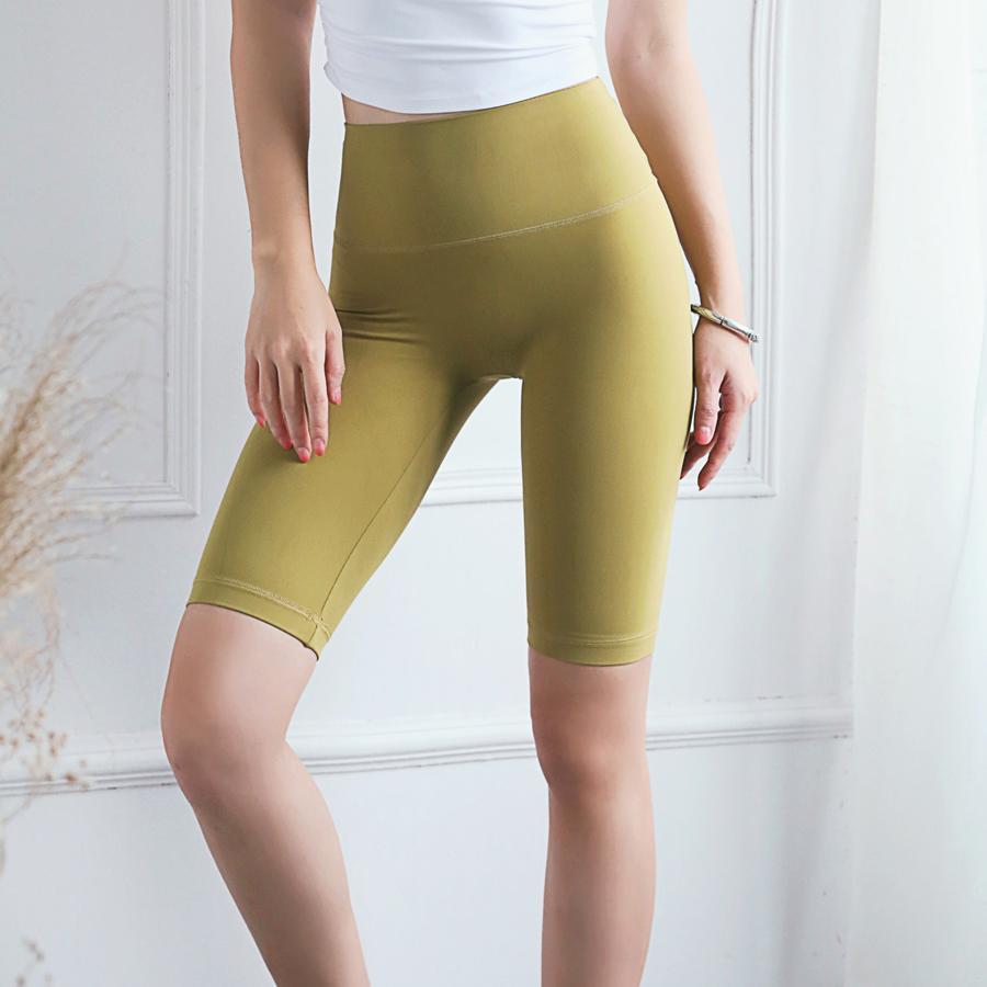 BINAND Push Up Fitness Women High Waist Sport Tummy Control Slim Running Yoga Shorts Quick Drying Nylon Gym Short T200504