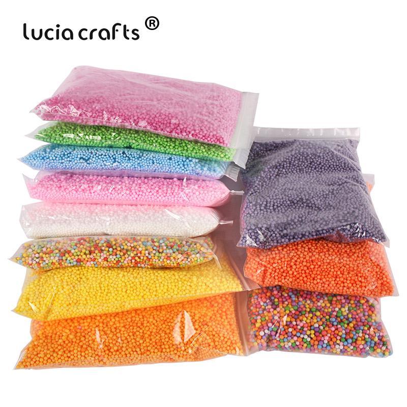 20g Sobre 20000pcs de espuma Bolas cores do partido do casamento do Natal Decoração DIY Crafts Supplies 041004012