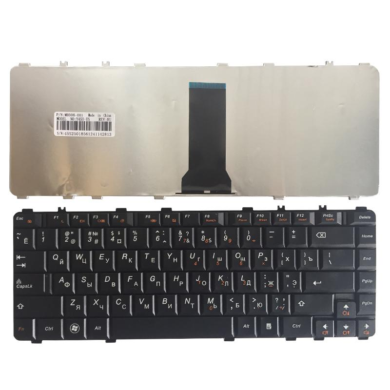 Laptop Parts Replacement Keyboards NEW Russian laptop Keyboard for Lenovo Ideapad 450 450 450AW 450G 550 550A 550P 460 Y560 B460 Y550A