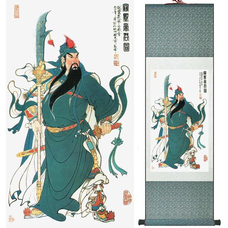 Arte chino tradicional, pintura Rollo de seda Imagen Lavado chino Pintura impresa Pintura Ltw121502
