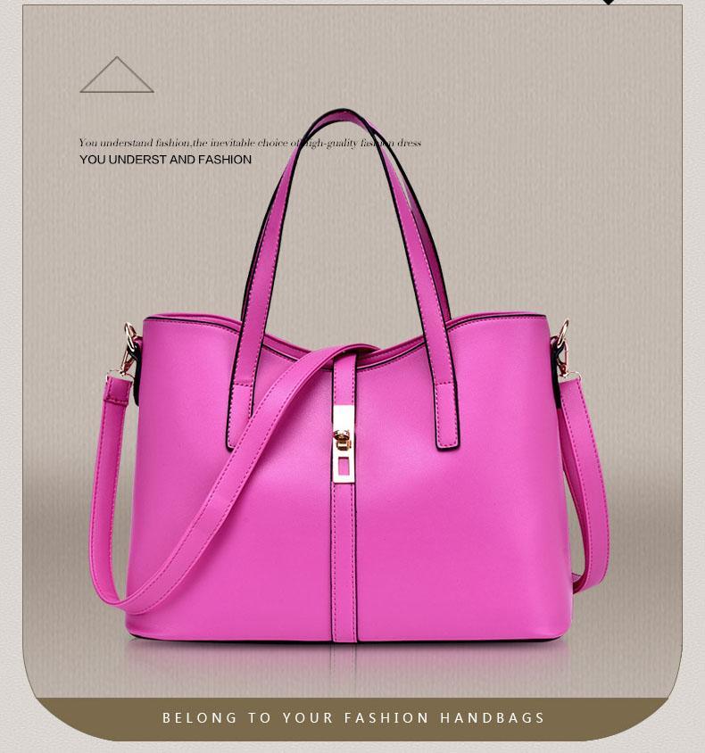 Сумки Женских конструкторов-в Pu кожи плечо сумка сумка + Crossbody сумка + кошелек большой емкости сумка на ремне Установить обновление