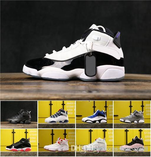Jumpman 6 6s Six Rings Bred Taxi Concord Men Basketball Shoes Space Jam Aqua Gym Red Confetti Classic Authentic Shoes Sneakers