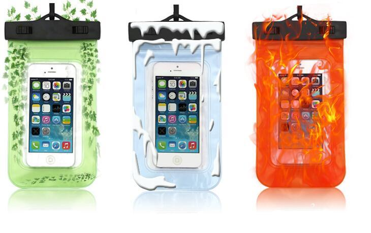 Cute cartoon lovely Universal cell phone Waterproof Beach Bag Case For iPhone For Samsung LG Under 6 inch Phone or OEM