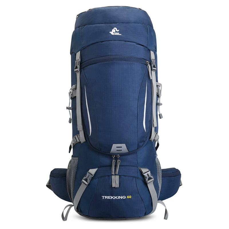 60L рюкзак кемпинга Путешествие Спорт сумка с дождевик Скалолазание Альпинизма Треккинга Открытого рюкзак Туризм Сумка Сумка