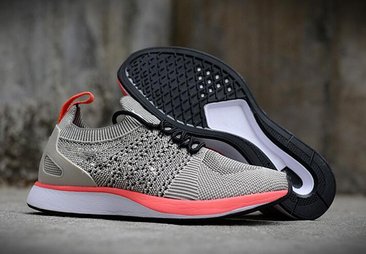 Acquista Nike Air Flyknit Racer 2 Air Zoom Mariah Fly Racer 2 Donna Uomo Athletic All Black Red Green Casual Scarpe Tessitura AIR Zoom Racer Sneaker