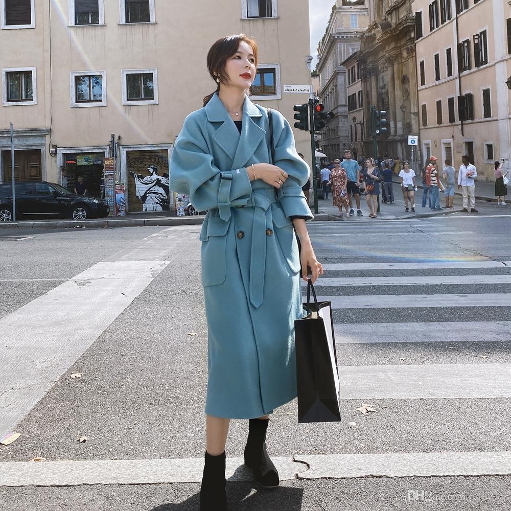 Buona fabbrica di qualità cappotto direttamente lana cappotto di lana donne cappotto di lana del wome con il prezzo piacevole