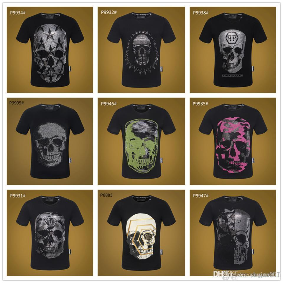 19sa skull jack zucca gialla party 3D t shirt uomo tshirt stampa t-shirt top casual tee manica corta streetwear regalo di halloween