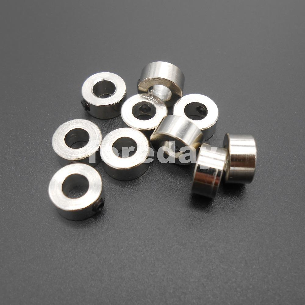 DIY 10PCS The Thickness 5mm metal Bushing axle sleeve Outer diameter 10mm Stainless steel shaft sleeve 5.05mm M5 5MMX10MM *FD068