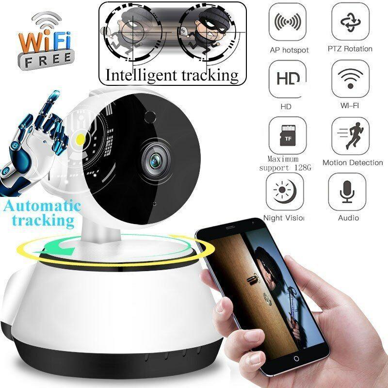 2019 ليلة الجديدة الترا HD اللاسلكي WIFI CCTV IP كاميرا سمارت هوم الأمن الرؤية داخلي مراقب قطعة أثرية كاميرا لاسلكية الرئيسية مراقب الذكية