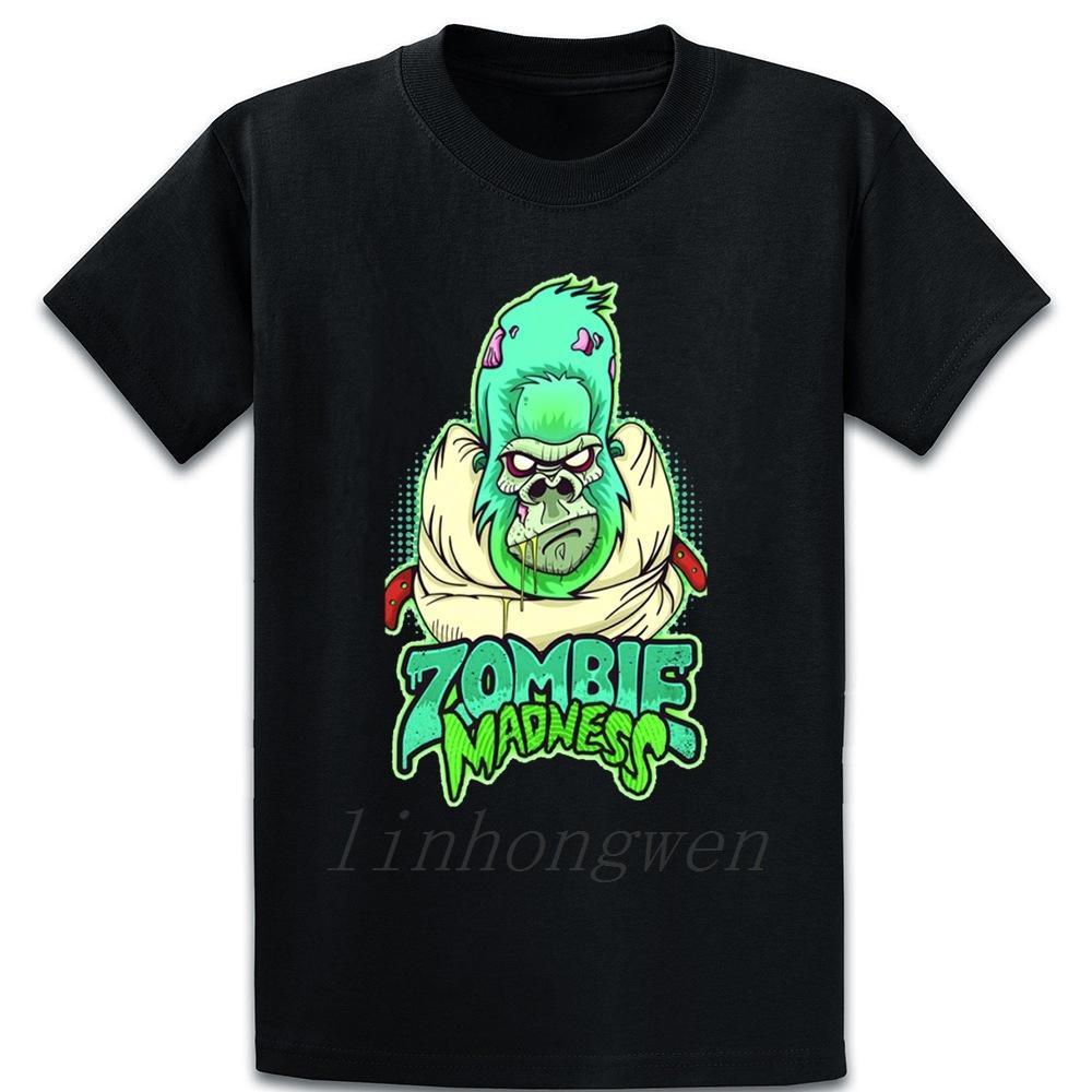 Zombie Madness maglietta fresco cotone anti-rughe Over Size 5XL Primavera Autunno lettere casuale Designer