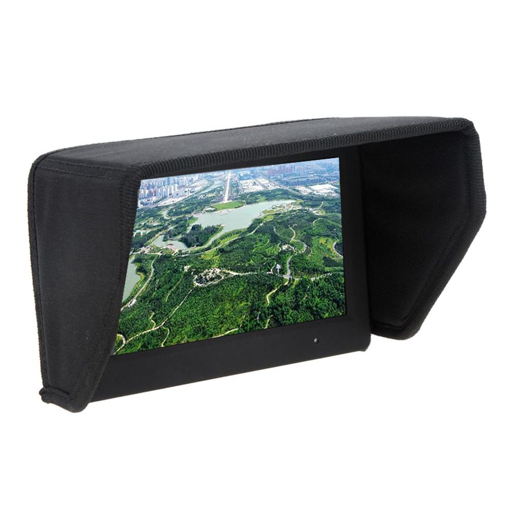 EDFY Original 7 pulgadas FPV Pantalla de monitor LCD Sun Shade Sun Hood para DJI Phantom FPV