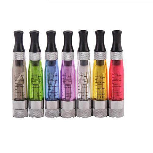 100% Newest CE4S CE4+ atomizer cartomizer Clearomizer for ecig ego t,ego w e-cigarette electronic cigarette 8 colours 1.6ml 4 long wicks
