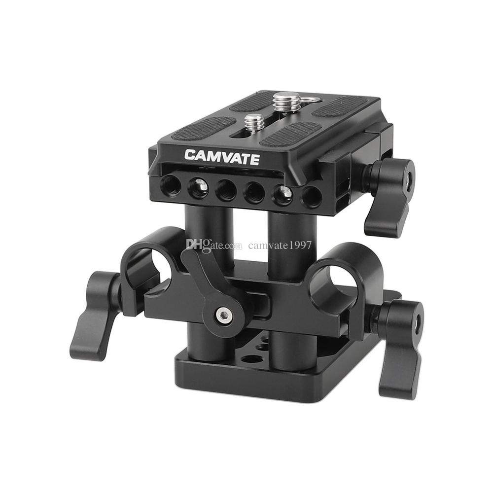 CAMVATE Quick Release Mount Base QR Plate for Manfrotto Standard Accessory Item Code: C1437