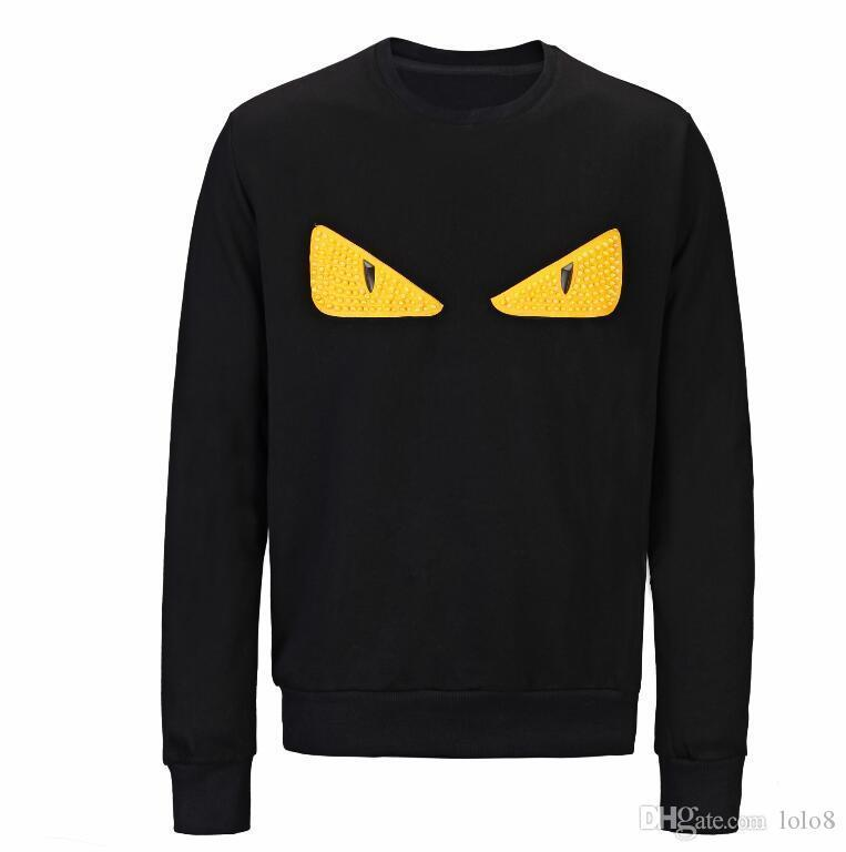 Para hombre blanco roto diseñador del suéter con capucha Hombres Mujeres camiseta de manga larga suéter suéter Marca sudaderas Streetwear Moda Sweatershirt AEFI