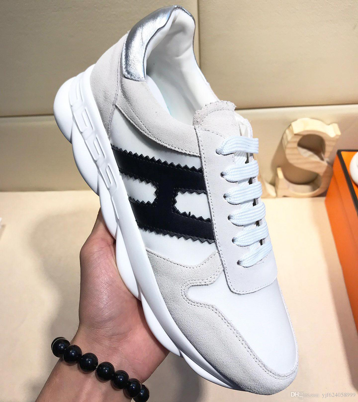 New highquality fashion mens casual shoes, design shoes mens sports shoes, fashion leather laceup shoes with original packaging qt