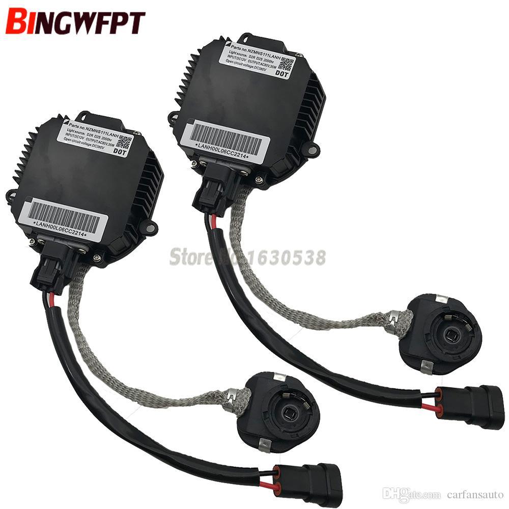 Unidad de control de balasto de faros de xenón para Nissan para Infiniti G35 G37 FX45 M45 QX5 NZMNS111LANH Faros de xenón HID lastre con cable