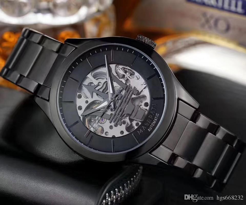 2020 best-seller nouvelle course deuxième marque de montres de luxe exclusif de la mode hommes Maserati montres montres de luxe essentielles des hommes