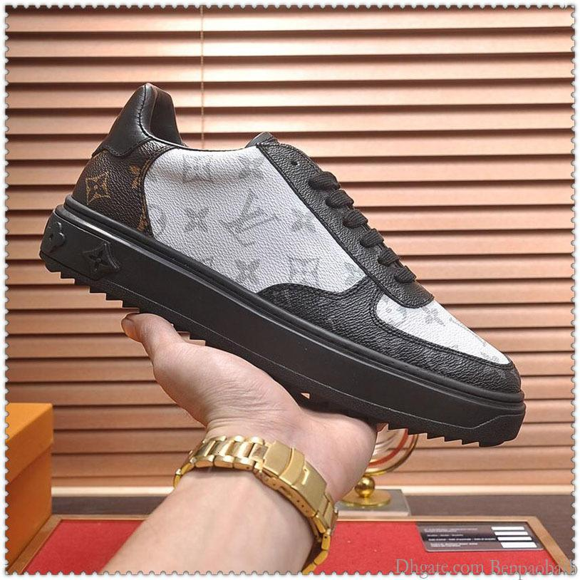2019 high quality men s casual sports shoes, rubber soft bottom casual shoes, a generation of original boxes