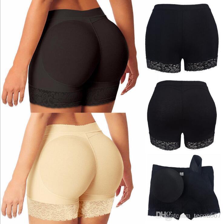 Women Butt Lifter Booty Shaper Sponge Padded Panty Hip Bum Enhancer Underwear