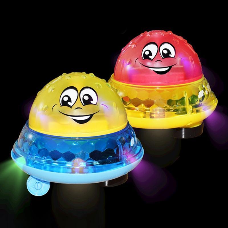 أكسسوارات للمسابح للأطفال الرضع مضحك حمام لعب اطفال الكهربائية رذاذ الكرة مع الموسيقى الخفيفة الأطفال المياه