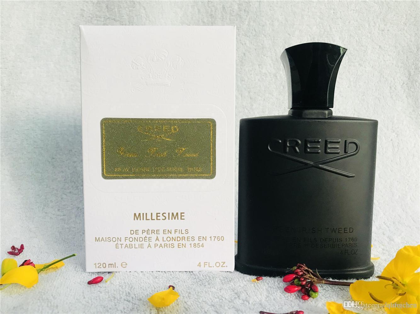 perfume superior famoso Credo Aventus para los hombres de larga duración de tiempo de alta calidad increíble olor a perfume 120 ml envío