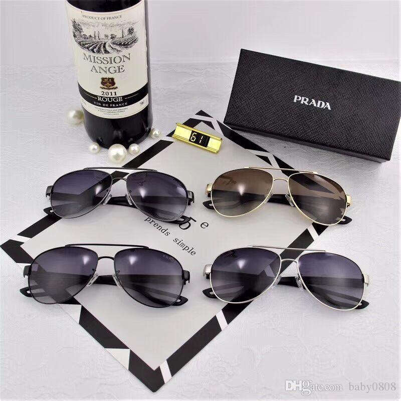 Top Qualtiy Half Frames New Fashion Big Frame 1851 Tom Sunglasses For Women Men Eyewear Sun Glasses Gafas Shade Original Box