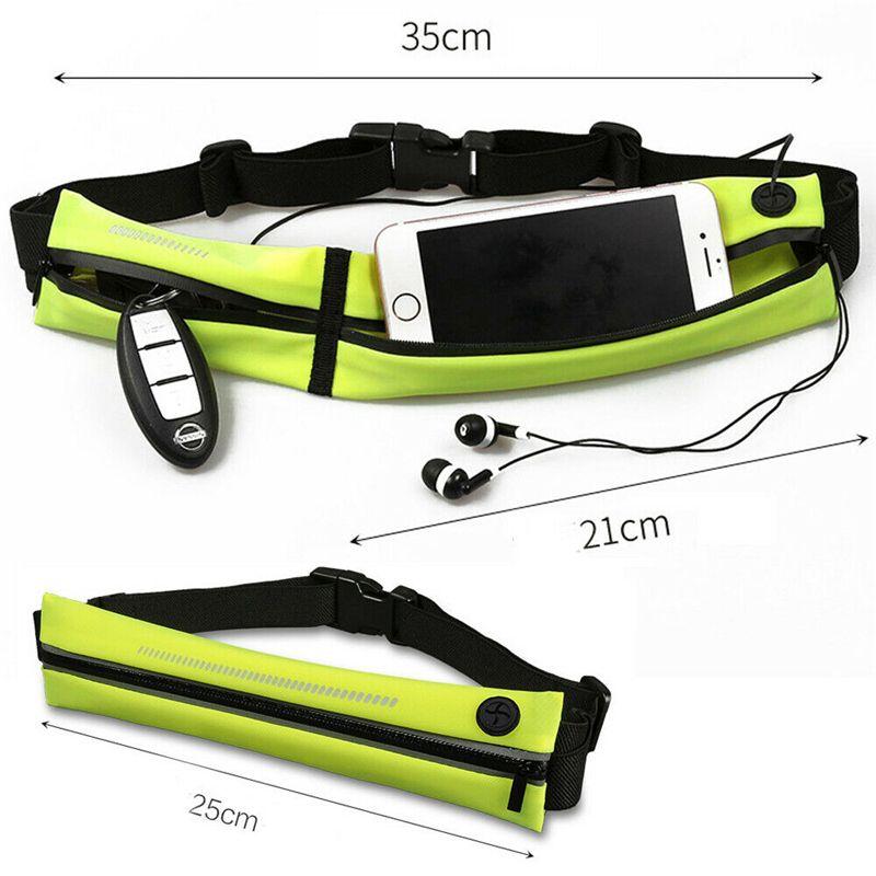 Sports Belly Waist Bum Bag Fitness Running Jogging Cycling Belt Pouch Pack