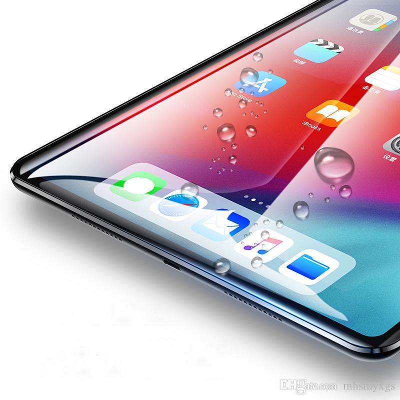 애플 아이 패드 프로 12.9 (11) 2018 화면 보호를위한 아이 패드 프로 (11) 12.9 인치 보호 강화 유리를 들어 화면 보호기