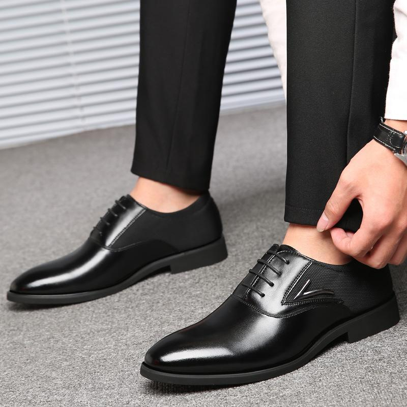 erkekler için Sıcak Satış-İngiliz tarzı ayakkabılar oxford ayakkabılar Büyük boy erkekler makosenler İngiltere tarzı erkekler ayakkabı zy255 bağcıklarını daire elbise
