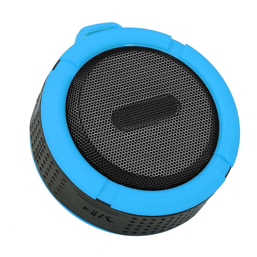 C6 Mini Protable Kablosuz Bluetooth Hoparlör Su geçirmez Duş Hoparlörler Kapalı Açık wirh Uzun Pil kaldırın ve Mikrofon TF Kart