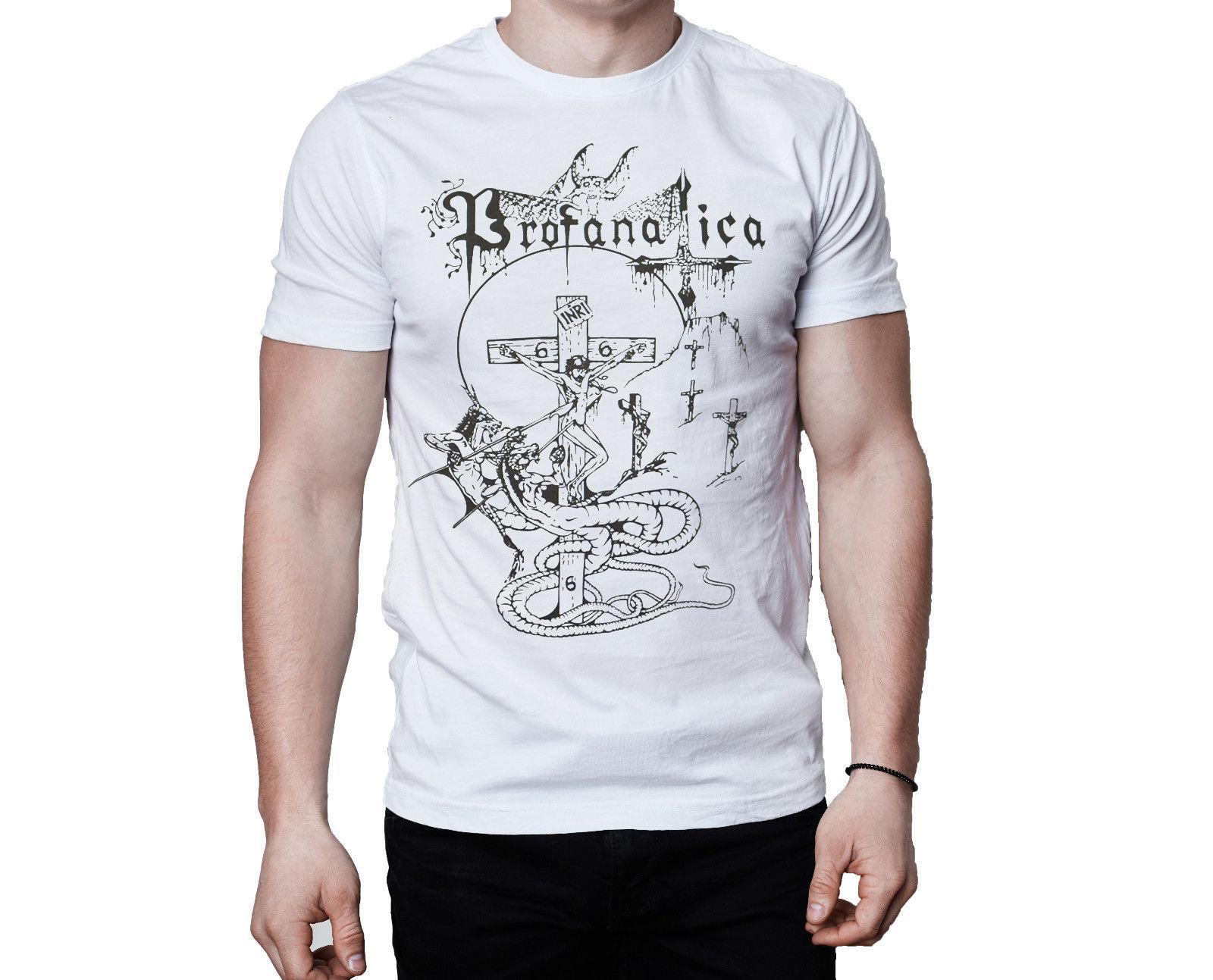 Profanatica chorando na canção do céu inspirado branco camiseta