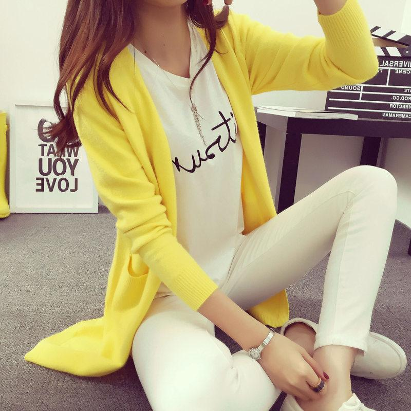 Outono Inverno alta qualidade Grey Mulheres Cashmere Cardigan Poncho Plus Size solto Brasão Feminino manga comprida vestidos de malha Camisolas DT191024