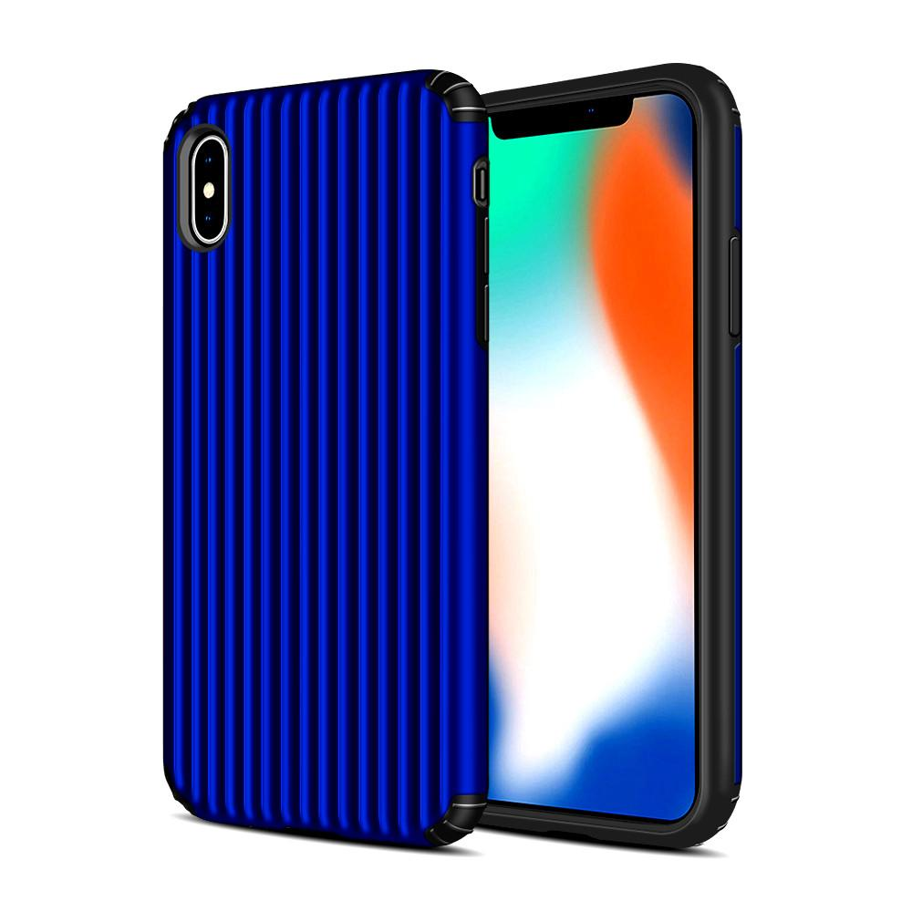 Hybrid Armor Luggage Case for Iphone 11 Pro Max X XS MAX XR 8/7 6 6S Plus Slim Armor tpu PC Case Back Cover Factory Price